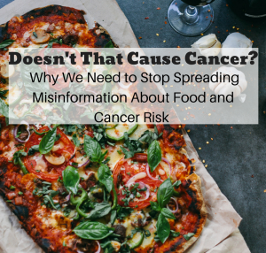 Food and Cancer Risk