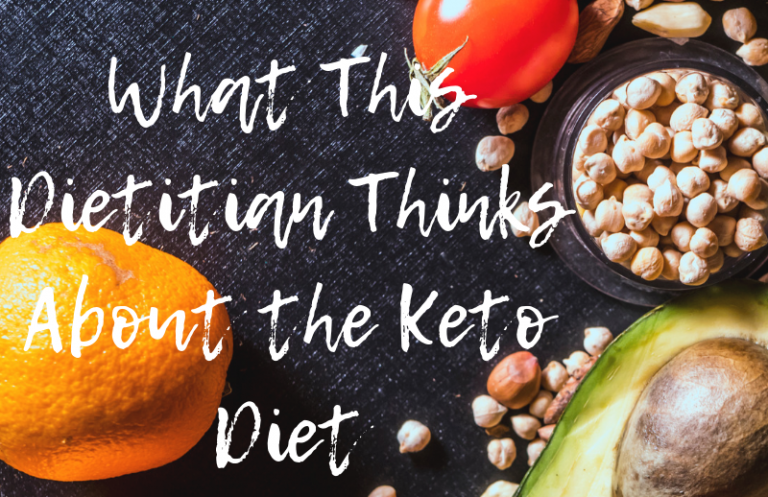 dietitian keto diet